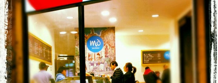 Gelateria Mò is one of Santiago.