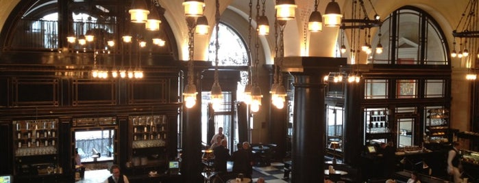 The Wolseley is one of Mayfair List.