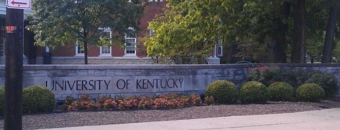 University of Kentucky is one of Tempat yang Disimpan JULIE.