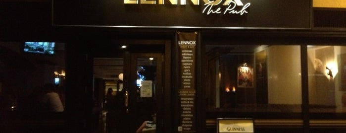 Lennox Pub is one of Locais curtidos por Fatih.