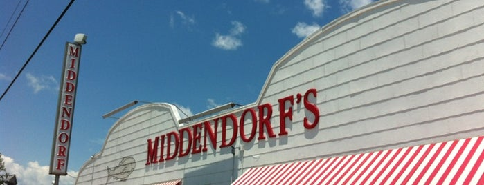 Middendorf's is one of New Orleans Beer Trip 2019.