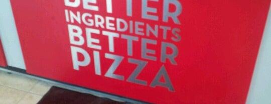 Papa John's Pizza is one of BloNo.