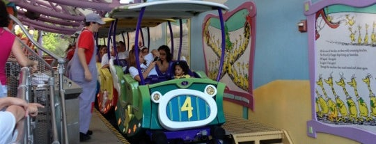 The High-In-The-Sky Seuss Trolley Train Ride is one of My vacation @ FL2.