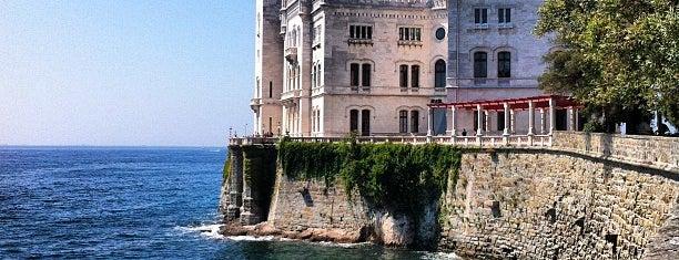 Schloss Miramar is one of Top Locations rund um Triest (ca. 50 km) SLO, ITA.