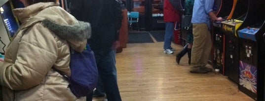 Rusty Quarters Arcade is one of Lugares favoritos de Wolfram.