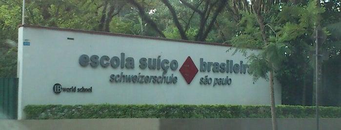 Escola Suiço Brasileira is one of สถานที่ที่ Caio Weil ถูกใจ.