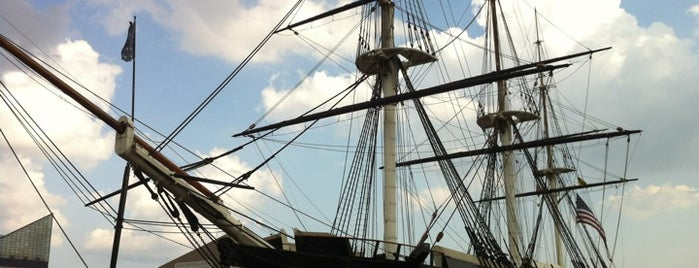 USS Constellation is one of The Great Baltimore Check In 2012.