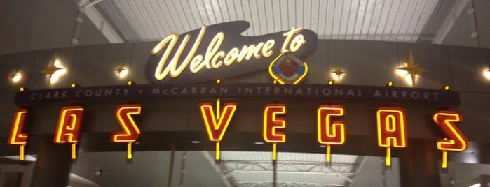 """Welcome to Las Vegas"" Sign is one of Vegas."