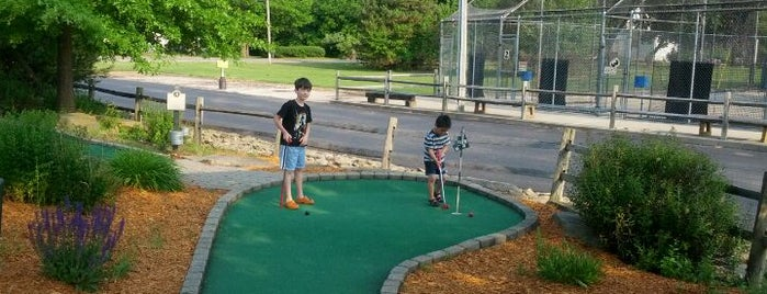Old town golf and sportland is one of Erie.