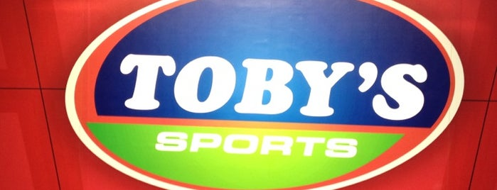 Toby's Sports is one of SM Megamall.