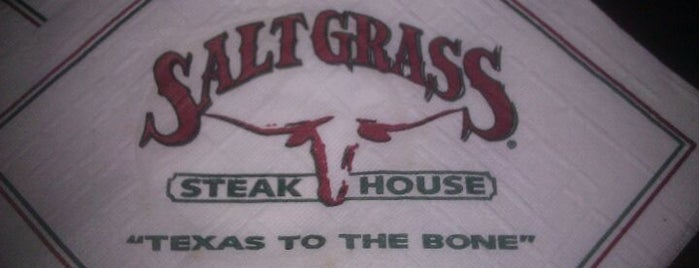 Saltgrass Steak House is one of Posti che sono piaciuti a Brian.