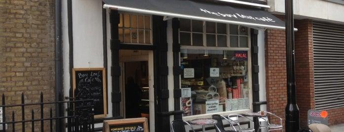 The Bay Leaf Cafe is one of สถานที่ที่บันทึกไว้ของ Jon.