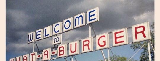 What-A-Burger is one of สถานที่ที่บันทึกไว้ของ David.