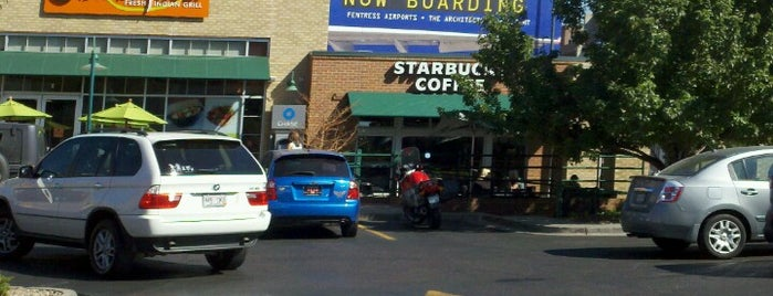 Starbucks is one of places to go.