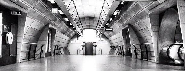 Southwark London Underground Station is one of London.