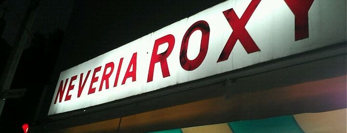 Nevería Roxy is one of Mexico City.