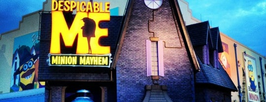 Despicable Me: Minion Mayhem is one of Locais curtidos por M..