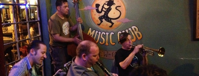 The Spotted Cat Music Club is one of New Orleans Recommended.