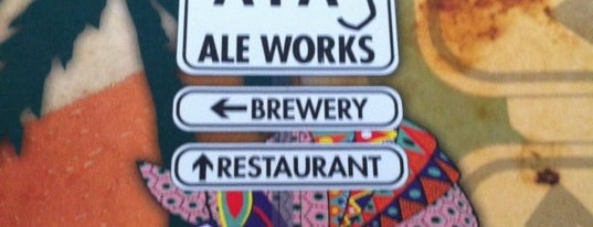 A1A Ale Works Restaurant & Taproom is one of Breweries I've Visited.
