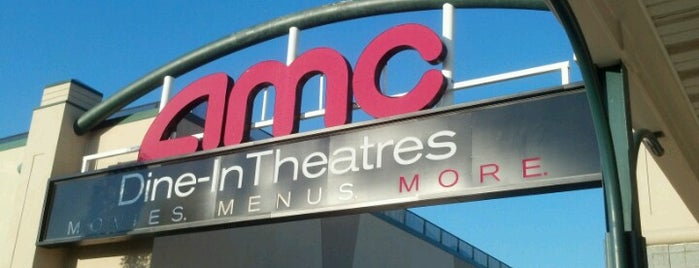 AMC Dine-in Theatres Essex Green 9 is one of olfat : понравившиеся места.