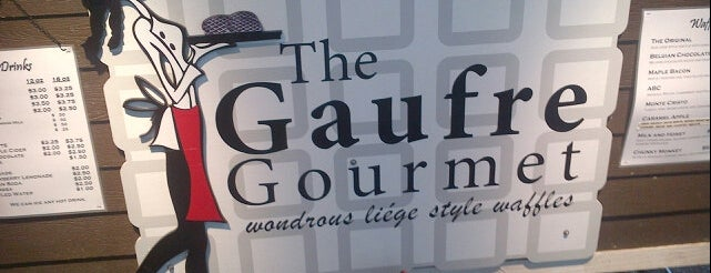 The Gaufre Gourmet is one of Portland Timbers Food Cart Alliance.