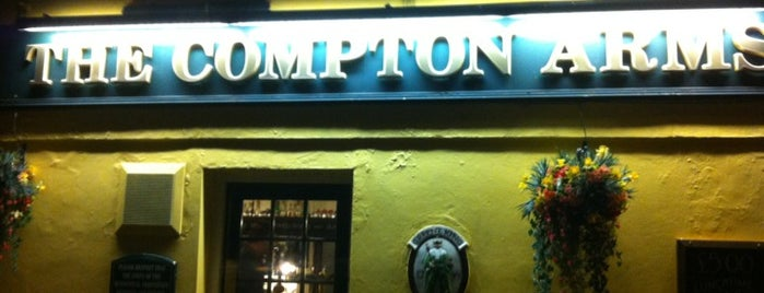 Compton Arms is one of Locais curtidos por Carl.