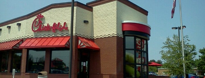 Chick-fil-A is one of Phillip's Liked Places.
