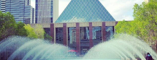 Sir Winston Churchill Square is one of Alberta - Wild Rose Country.