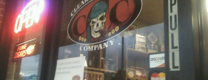 Clearwater Cigar Company is one of Cigar Friendly Tampa Bay.