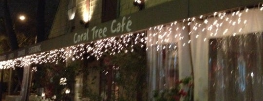 Coral Tree Cafe is one of Cafés.
