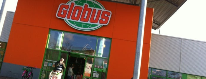 Globus is one of Lugares favoritos de Justin.