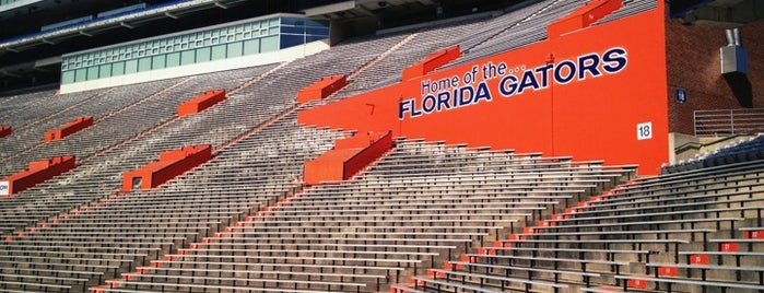 Ben Hill Griffin Stadium is one of Floridas Top Spots.