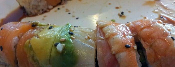 Hana Sushi Bar is one of Lieux qui ont plu à Nick.