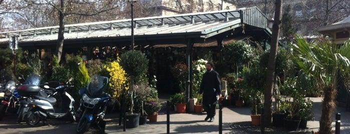 Marché aux fleurs Reine Elizabeth II is one of Paris' Must-Visits.