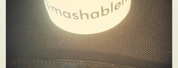 Mashable HQ is one of Silicon Alley.