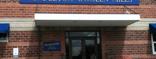 Pendleton Woolen Mills is one of Portland.