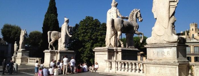 Piazza del Campidoglio is one of Roma.