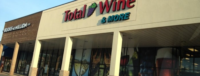 Total Wine & More is one of McLean/Tysons general area.