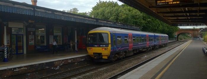 Twyford Railway Station (TWY) is one of TFL Elizabeth Line Stations.