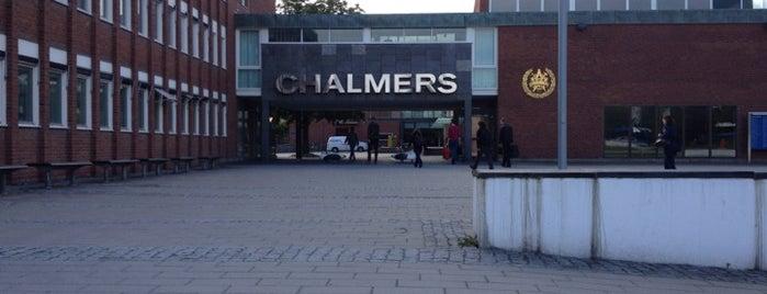 Chalmers tekniska högskola is one of Göteborg.