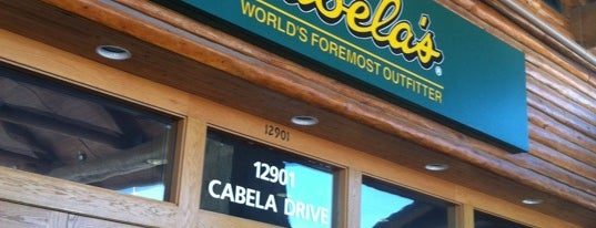 Cabela's is one of ᴡさんのお気に入りスポット.