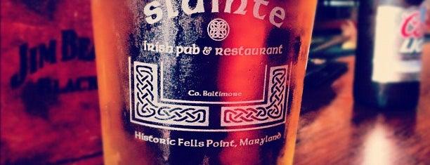 Sláinte Irish Pub is one of Buy Me A Drank.