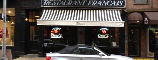 Raoul's Restaurant is one of NYC Bucket List.