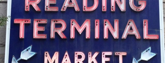 Reading Terminal Market is one of Restos.