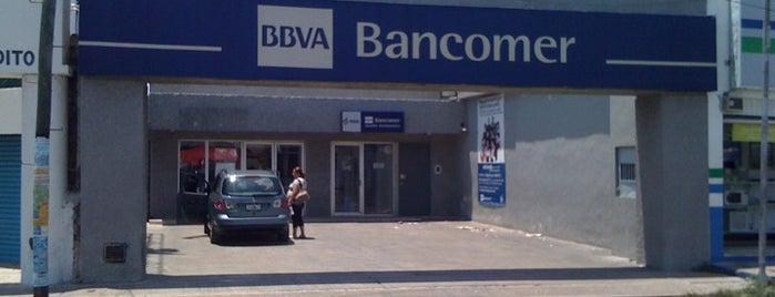 BBVA Bancomer is one of Mis Lugares.