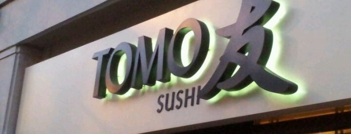 Tomo Sushi is one of Waw.