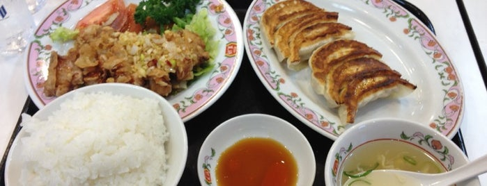 Gyoza Ohsho is one of Lugares favoritos de ねうとん.