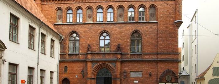 Rīgas vēstures un kuģniecības muzejs is one of Art Galleries & Art Museums in Riga.