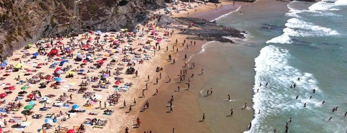 Praia da Zambujeira do Mar is one of Guía de Portugal.
