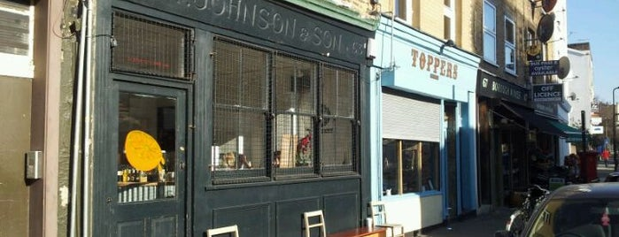 Wilton Way Café is one of Hackney Breakfast & Brunch, yeah!.